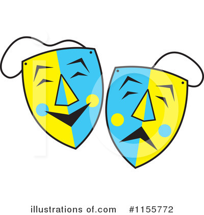 Mask Clipart #1155772 by Johnny Sajem