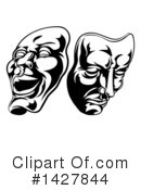Theatre Clipart #1427844 by AtStockIllustration