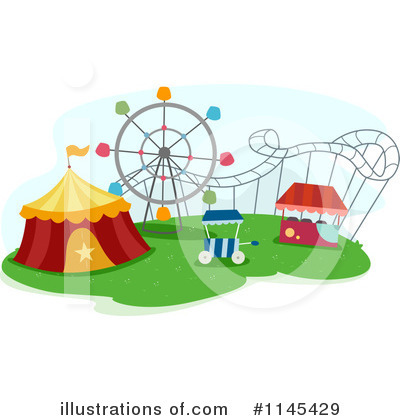Amusement Park Clipart #1145429 by BNP Design Studio