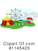 Royalty-Free (RF) Theme Park Clipart Illustration #1145429