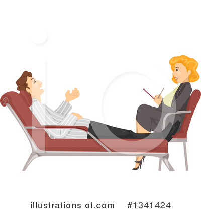 Royalty-Free (RF) Therapist Clipart Illustration by BNP Design Studio - Stock Sample #1341424