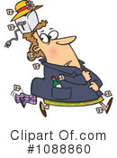 Royalty-Free (RF) Thief Clipart Illustration #1088860