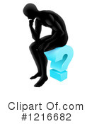 Thinker Clipart #1216682 by AtStockIllustration