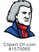 Thomas Jefferson Clipart #1570065 by patrimonio