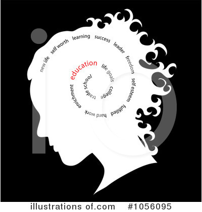 Head Clipart #1056095 by Pams Clipart