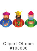 Three Kings Clipart #100000
