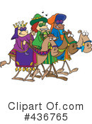 Three Wise Men Clipart #436765
