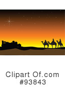 Three Wise Men Clipart #93843