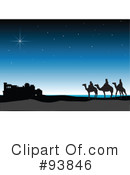 Three Wise Men Clipart #93846