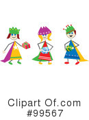 Three Wise Men Clipart #99567
