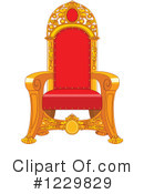 Throne Clipart #1229829 by Pushkin