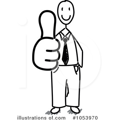 Stick People Clipart #1053970 by Frog974