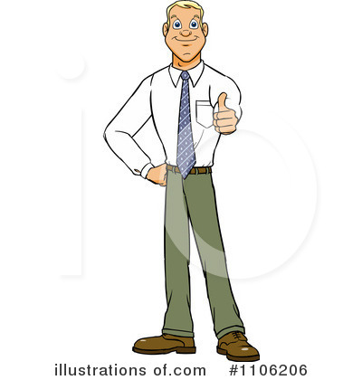 Businessman Clipart #1106206 by Cartoon Solutions