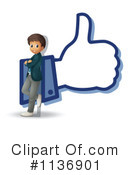 Thumb Up Clipart #1136901 by Graphics RF