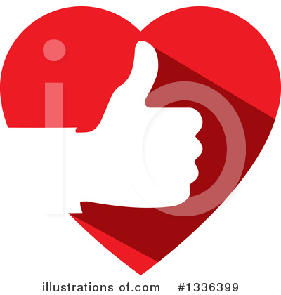 Heart Clipart #1336399 by ColorMagic