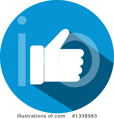Thumb Up Clipart #1338983 by ColorMagic