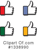 Thumb Up Clipart #1338990 by ColorMagic