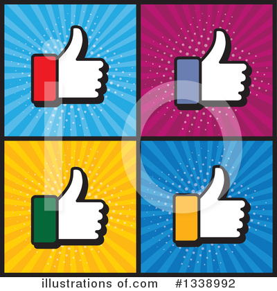 Thumb Up Clipart #1338992 by ColorMagic