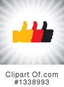 Thumb Up Clipart #1338993 by ColorMagic