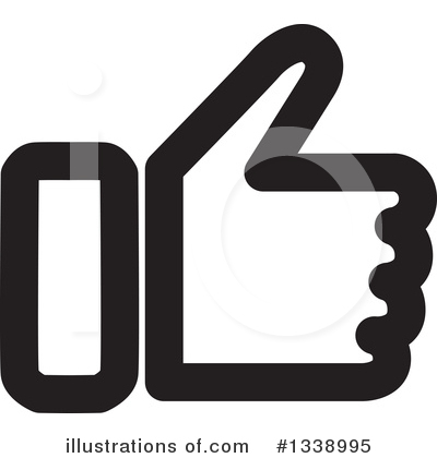 Thumb Up Clipart #1338995 by ColorMagic
