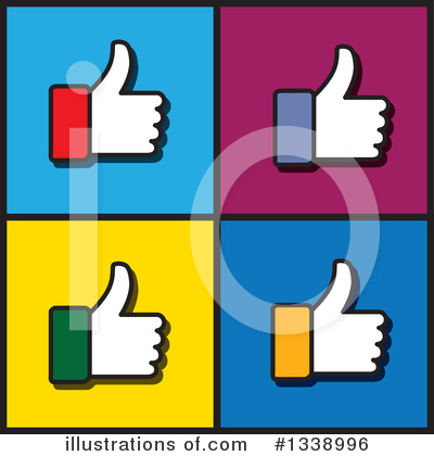 Thumb Up Clipart #1338996 by ColorMagic