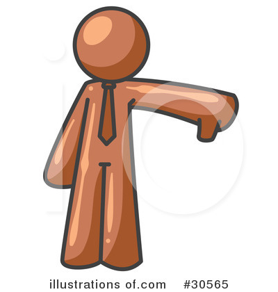 Brown Collection Clipart #30565 by Leo Blanchette