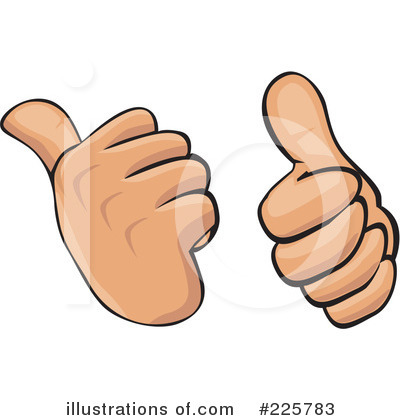Thumbs Up Clipart #225783 by David Rey