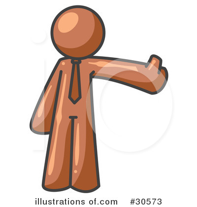 Brown Collection Clipart #30573 by Leo Blanchette