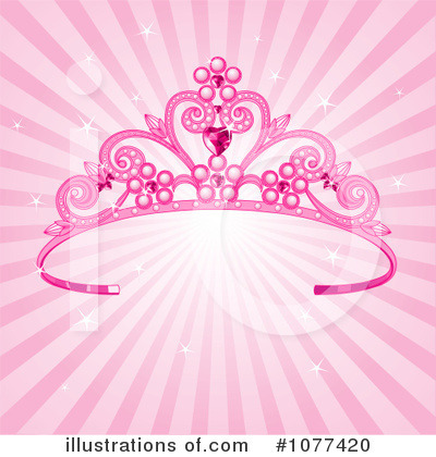Royalty-Free (RF) Tiara Clipart Illustration by Pushkin - Stock Sample