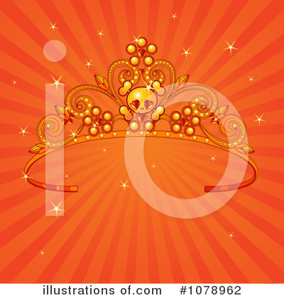 Royalty-Free (RF) Tiara Clipart Illustration by Pushkin - Stock Sample #1078962