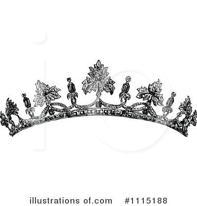 Black Tiara Clip Art