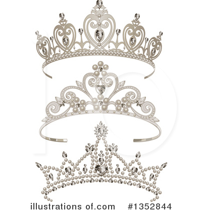 Tiara Clipart #1352844 by Pushkin