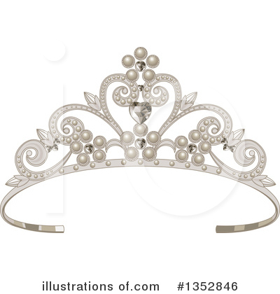 Tiara Clipart #1352846 by Pushkin
