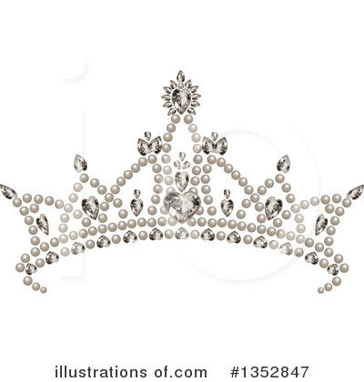 Tiara Clipart #1352847 by Pushkin