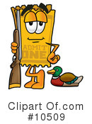 Ticket Clipart #10509 by Toons4Biz