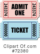 Ticket Clipart #72380