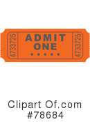 Ticket Clipart #78684