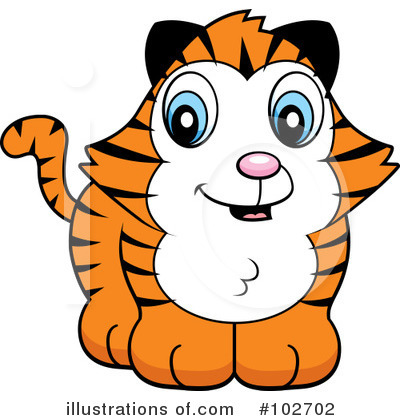 Tiger Clipart #102702 by Cory Thoman