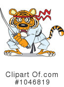 Royalty-Free (RF) Tiger Clipart Illustration #1046819