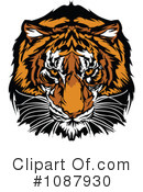 Royalty-Free (RF) Tiger Clipart Illustration #1087930