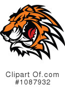 Royalty-Free (RF) Tiger Clipart Illustration #1087932