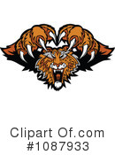 Royalty-Free (RF) Tiger Clipart Illustration #1087933