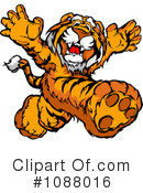 Royalty-Free (RF) Tiger Clipart Illustration #1088016