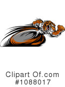 Royalty-Free (RF) Tiger Clipart Illustration #1088017
