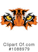 Royalty-Free (RF) Tiger Clipart Illustration #1088979