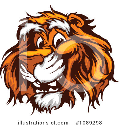 Tiger Clipart #1089298 by Chromaco