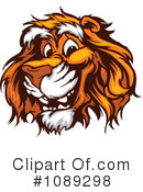 Royalty-Free (RF) Tiger Clipart Illustration #1089298