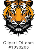 Royalty-Free (RF) Tiger Clipart Illustration #1090206