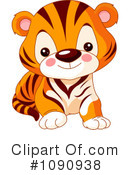 Royalty-Free (RF) Tiger Clipart Illustration #1090938