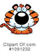 Tiger Clipart #1091232 by Cory Thoman